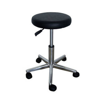 Black Beautician Stool