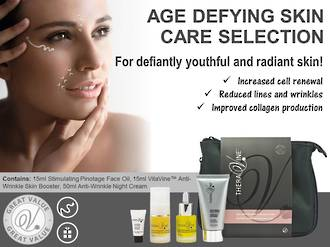 Theravine RETAIL Age-Defying Skin Care Selection Pack