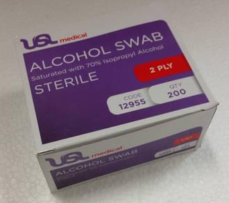 Alcohol Swabs 70% 200pc