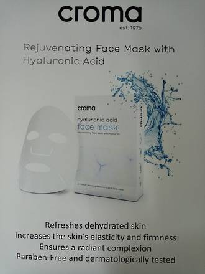 Croma Poster A4 Rejuvenating face Mask