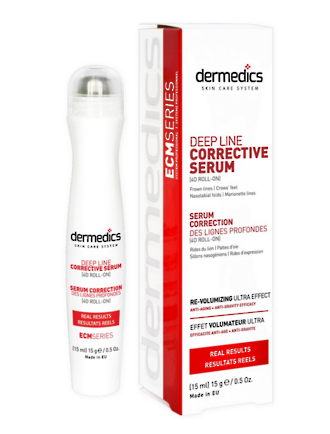 ECM Roll-On Deep Line Corrective Serum 15ml