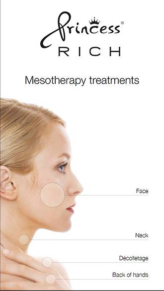 Princess Poster A4 Mesotherapy Face