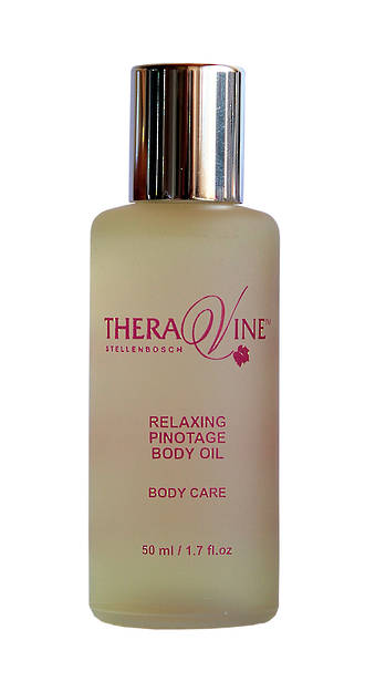 Theravine MINI Relaxing Pinotage Body Oil 50ml