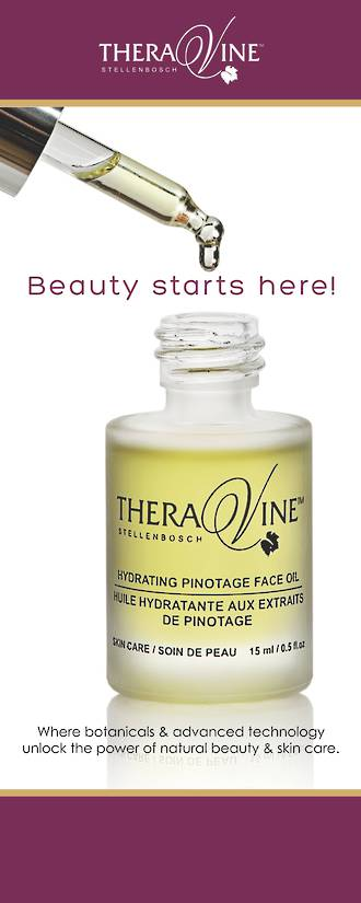 Theravine Pull-up Banner - Beauty Starts Here