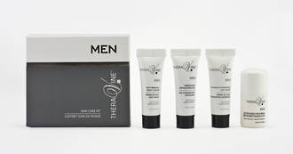 Theravine Mens Skin Travel Kit