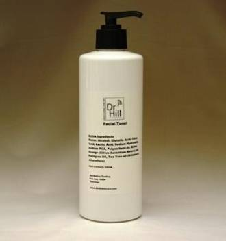 Dr Hill Facial Toner 500ml pump bottle