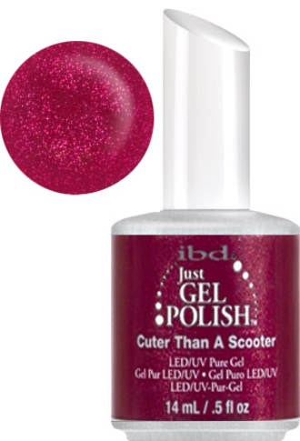 Mad about mod Just Gel Cuter than a scooter Polish