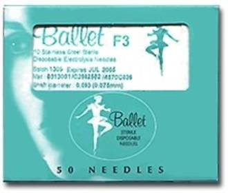 10 pk F2 Stainless Steel Needles