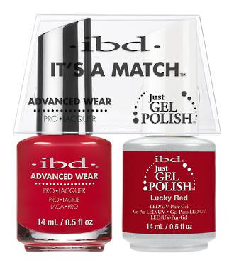 ibd Duo Polish - Lucky Red