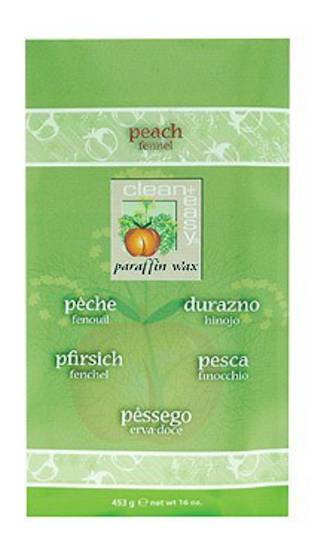 Clean & Easy Peach & Juniper Paraffin Refill 6 X 453g