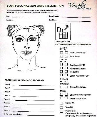 Prescription Pad Dr. Hill