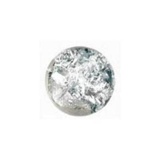 Crumbled Foil - Silver