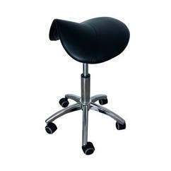 Saddle Stool Black