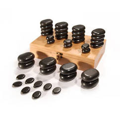 36pcs Body Massage Stone Set