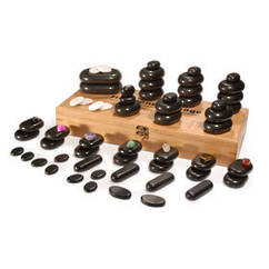 64PCs Deluxe Massage Hot Stone