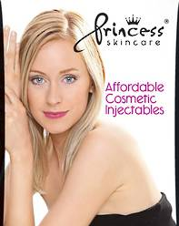 Princess A3 Poster Filler - Affordable Cosmetic Injections