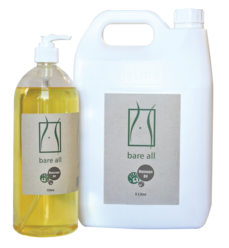 Bare All H2O Massage Oil 5lt