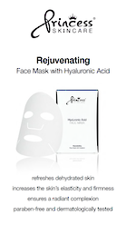 Princess Poster A4 Rejuvenating face Mask