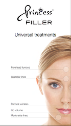 Princess Poster A4 Universal treatments Face