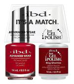 IBD Duo Polish - Bing Cherries