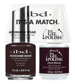 IBD Duo Polish - Plum Raven