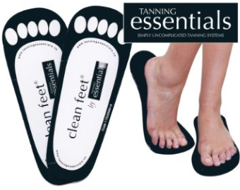 tanning essentials sticky feet-615
