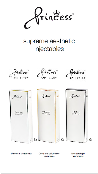 Princess Poster A4 Supreme Aesthetic Injectables
