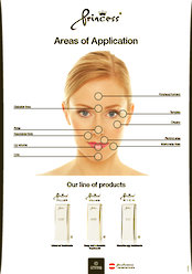 Princess Injectables A4 poster