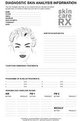 SkincareRX Prescription Pad with 100 x carbon copy sheets