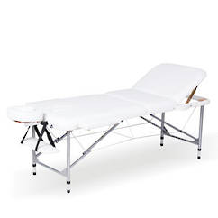 White Portable Facial / Massage Bed